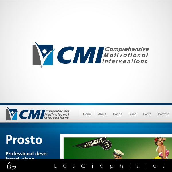 Logo Design by Les-Graphistes - Entry No. 53 in the Logo Design Contest CMI (Comprehensive Motivational Interventions).