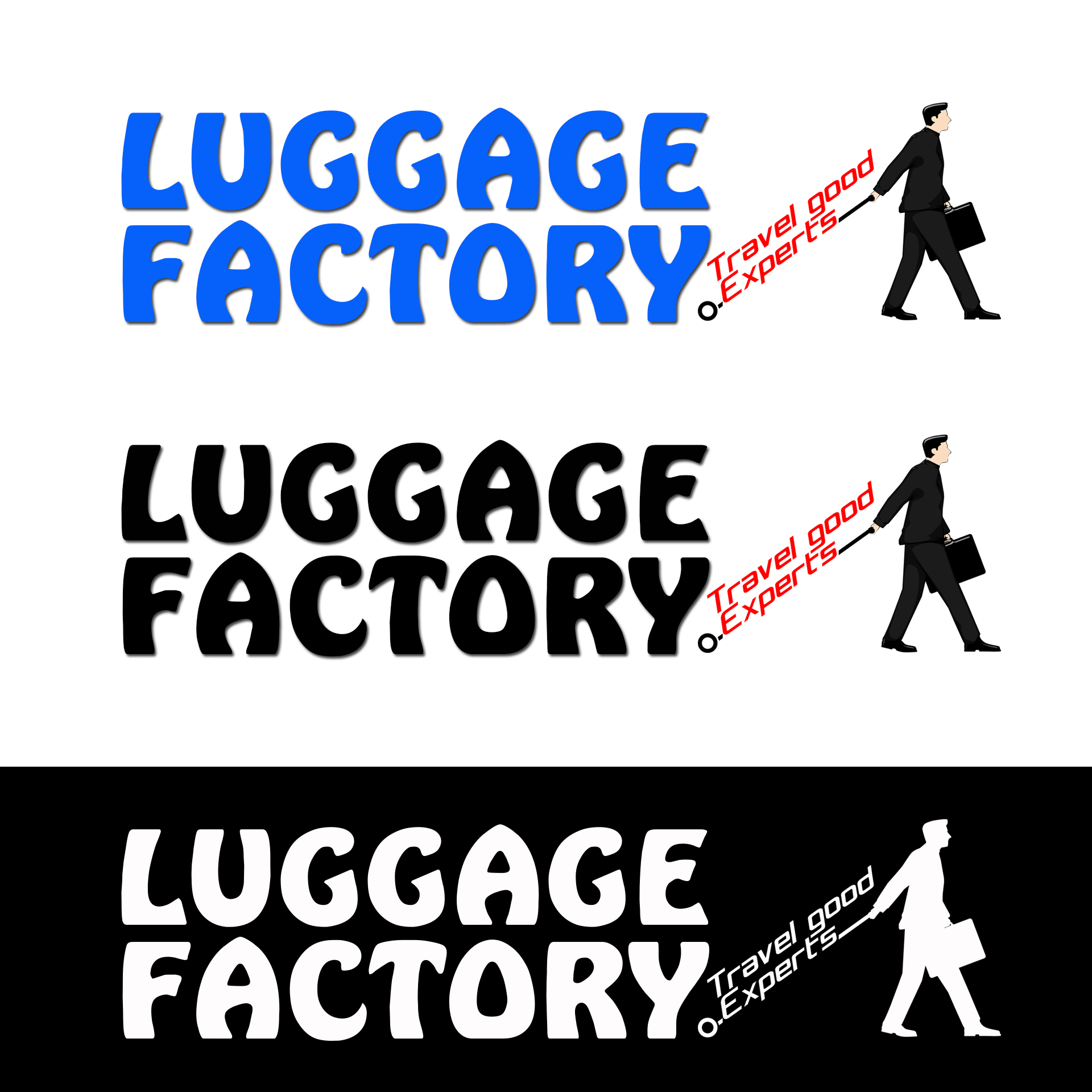 Logo Design by chAnDOS - Entry No. 96 in the Logo Design Contest Creative Logo Design for Luggage Factory.