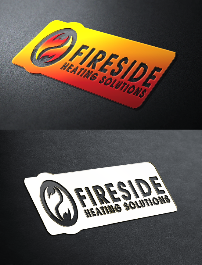 Logo Design by Private User - Entry No. 145 in the Logo Design Contest Creative Logo Design for Fireside Heating Solutions Ltd..