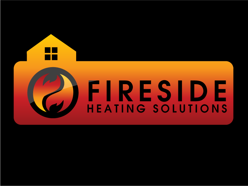 Logo Design by Private User - Entry No. 147 in the Logo Design Contest Creative Logo Design for Fireside Heating Solutions Ltd..