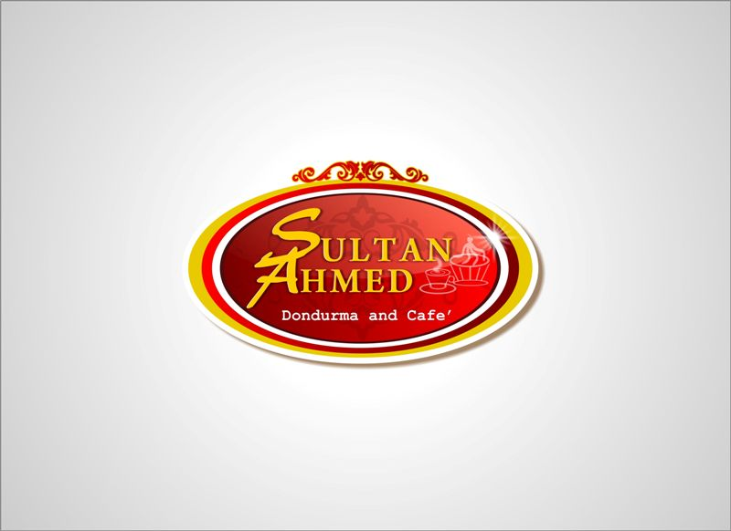 Logo Design by Mhon_Rose - Entry No. 15 in the Logo Design Contest Unique Logo Design Wanted for Sultan Ahmed Dondurma and Cafe.