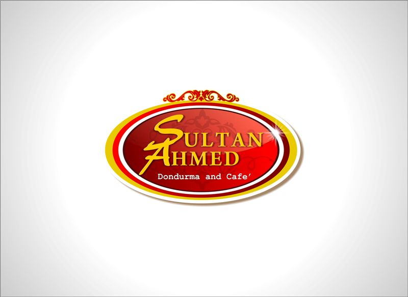 Logo Design by Mhon_Rose - Entry No. 16 in the Logo Design Contest Unique Logo Design Wanted for Sultan Ahmed Dondurma and Cafe.