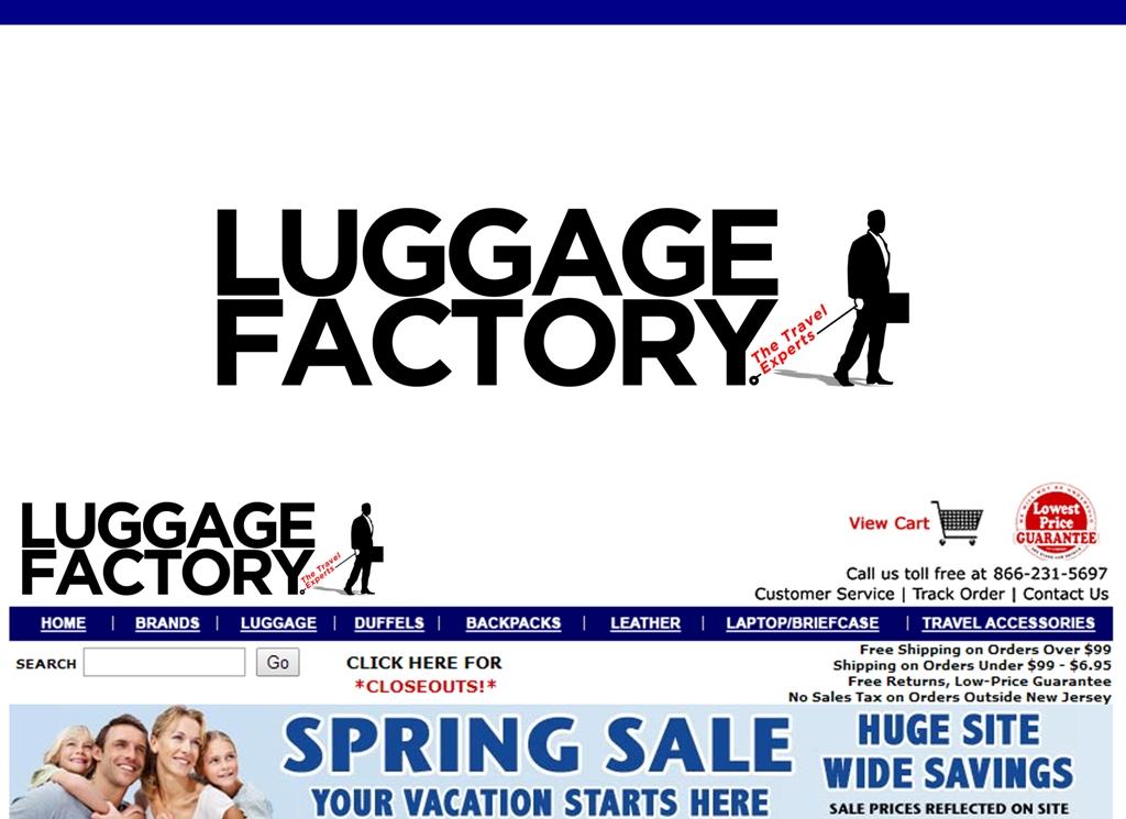 Logo Design by Juan_Kata - Entry No. 102 in the Logo Design Contest Creative Logo Design for Luggage Factory.