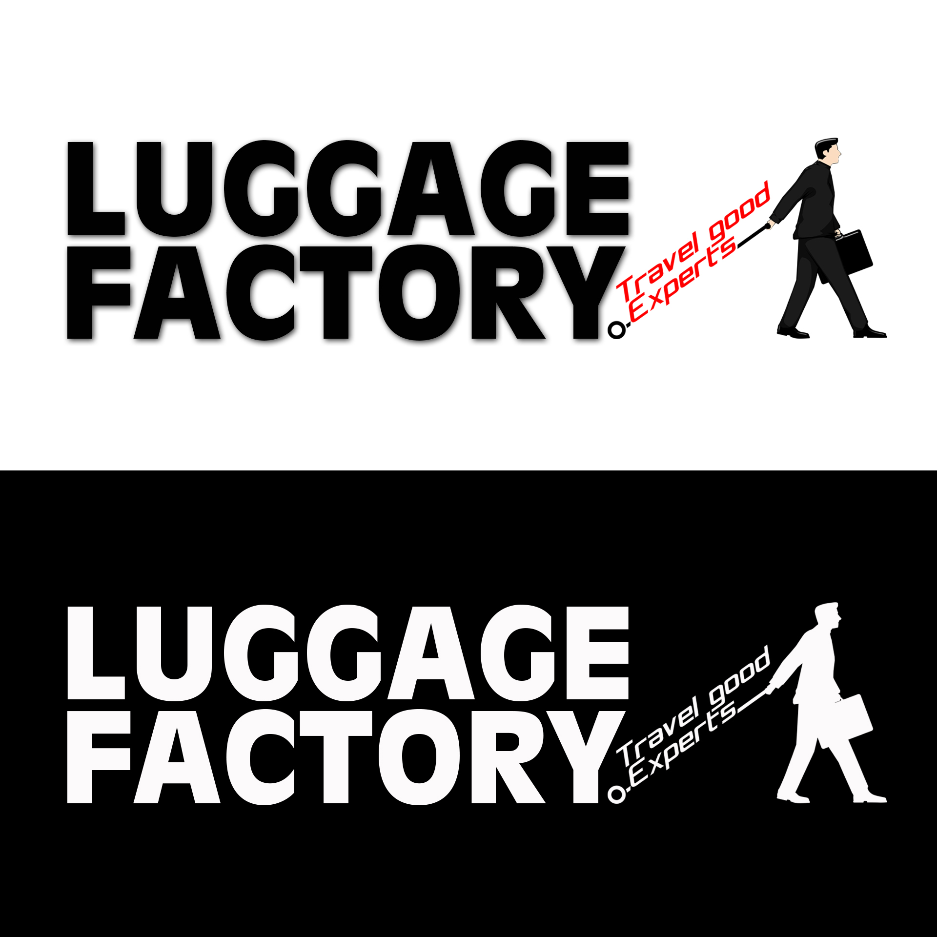 Logo Design by chAnDOS - Entry No. 104 in the Logo Design Contest Creative Logo Design for Luggage Factory.