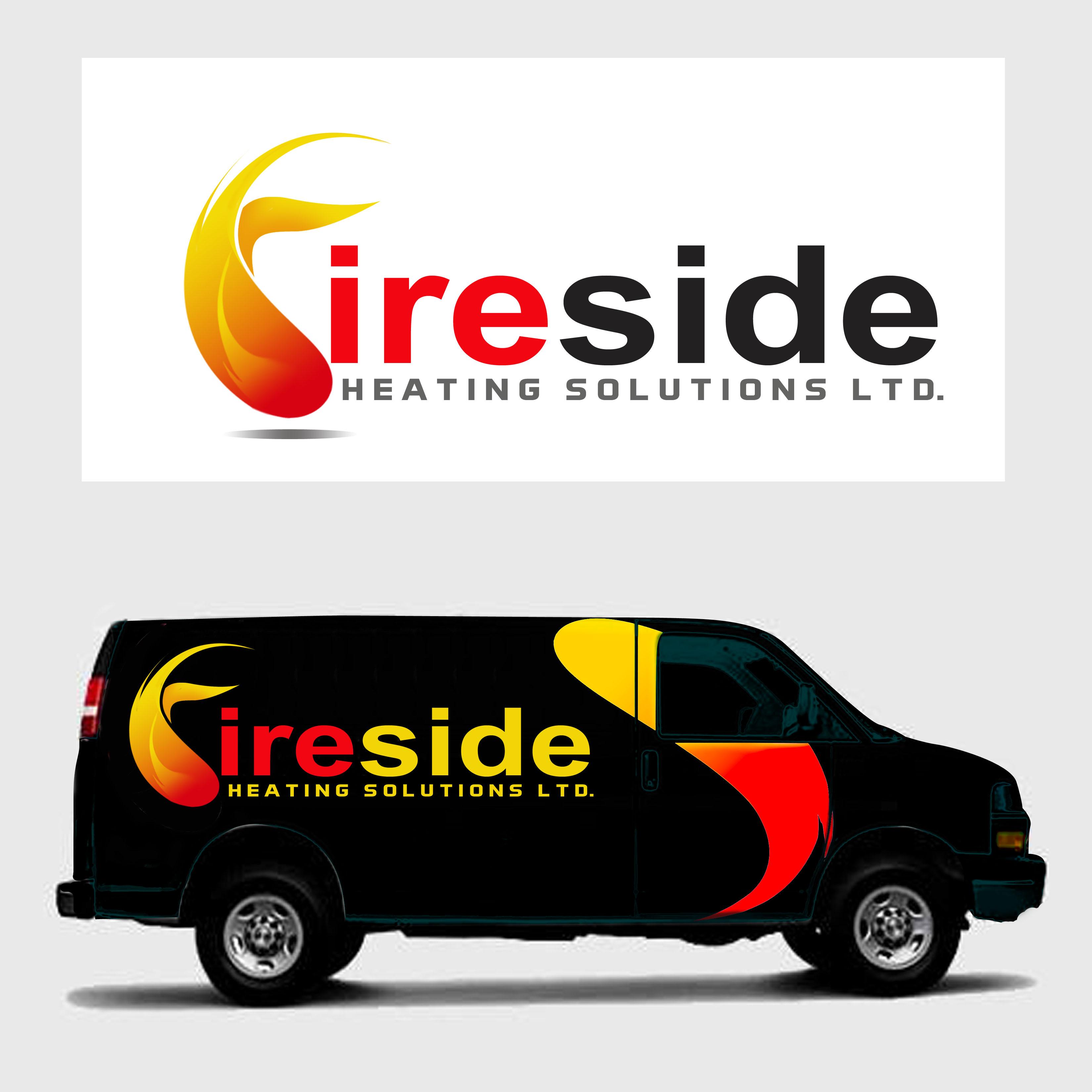 Logo Design by Allan Esclamado - Entry No. 148 in the Logo Design Contest Creative Logo Design for Fireside Heating Solutions Ltd..