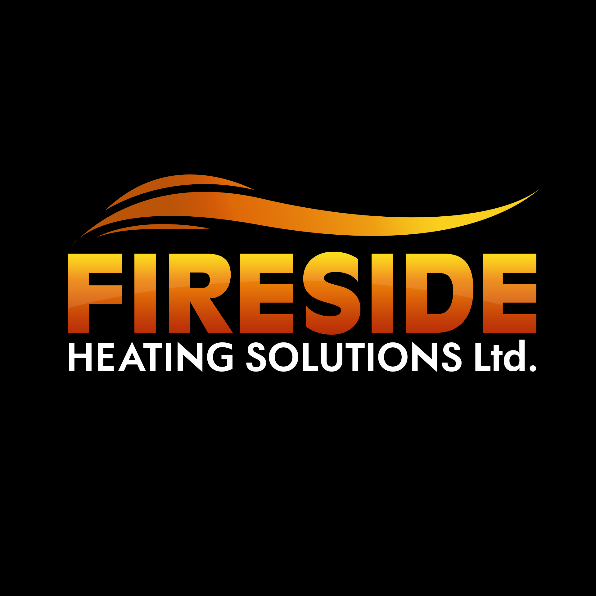 Logo Design by chAnDOS - Entry No. 149 in the Logo Design Contest Creative Logo Design for Fireside Heating Solutions Ltd..