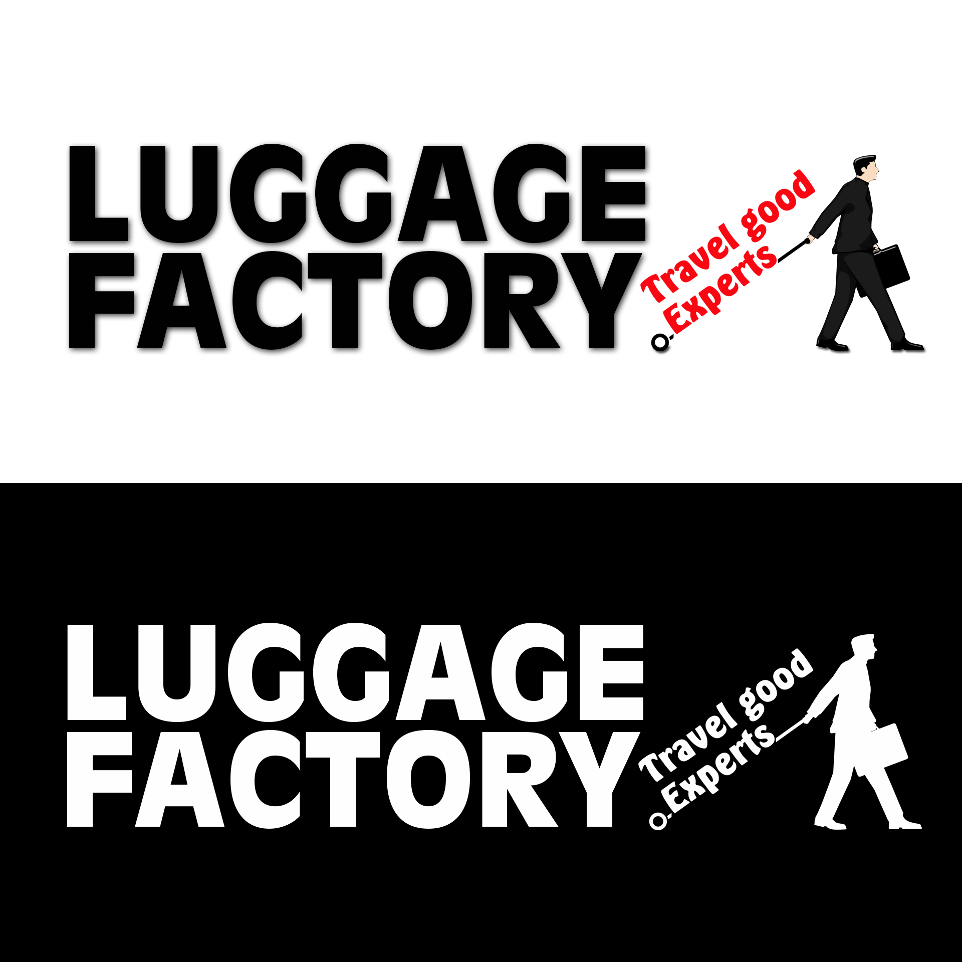 Logo Design by chAnDOS - Entry No. 106 in the Logo Design Contest Creative Logo Design for Luggage Factory.