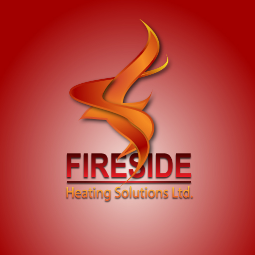 Logo Design by Runz - Entry No. 153 in the Logo Design Contest Creative Logo Design for Fireside Heating Solutions Ltd..