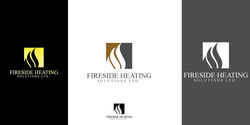 Logo Design by ARSAL ARSAL - Entry No. 155 in the Logo Design Contest Creative Logo Design for Fireside Heating Solutions Ltd..