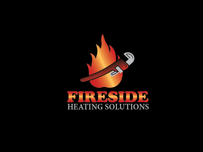 Logo Design by brands_in - Entry No. 156 in the Logo Design Contest Creative Logo Design for Fireside Heating Solutions Ltd..