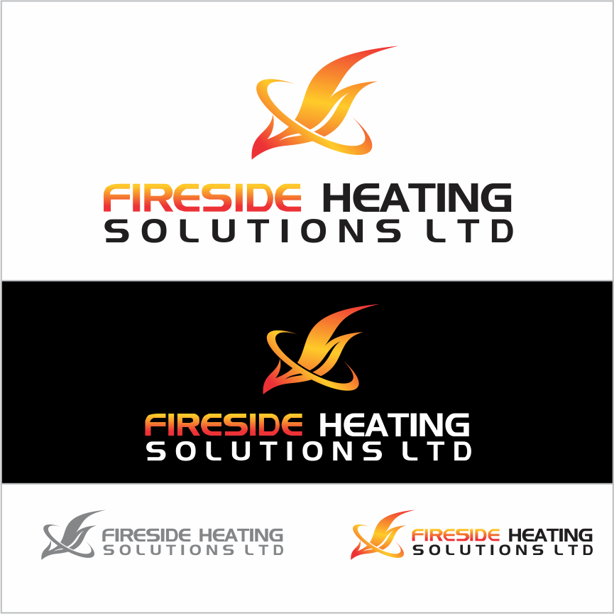 Logo Design by Armada Jamaluddin - Entry No. 157 in the Logo Design Contest Creative Logo Design for Fireside Heating Solutions Ltd..