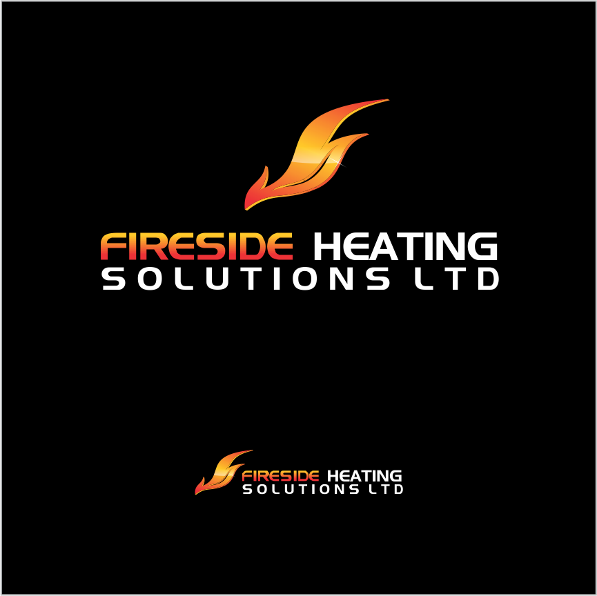 Logo Design by Armada Jamaluddin - Entry No. 158 in the Logo Design Contest Creative Logo Design for Fireside Heating Solutions Ltd..