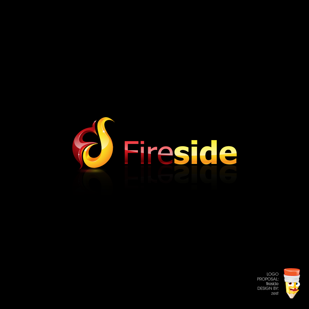 Logo Design by zesthar - Entry No. 169 in the Logo Design Contest Creative Logo Design for Fireside Heating Solutions Ltd..