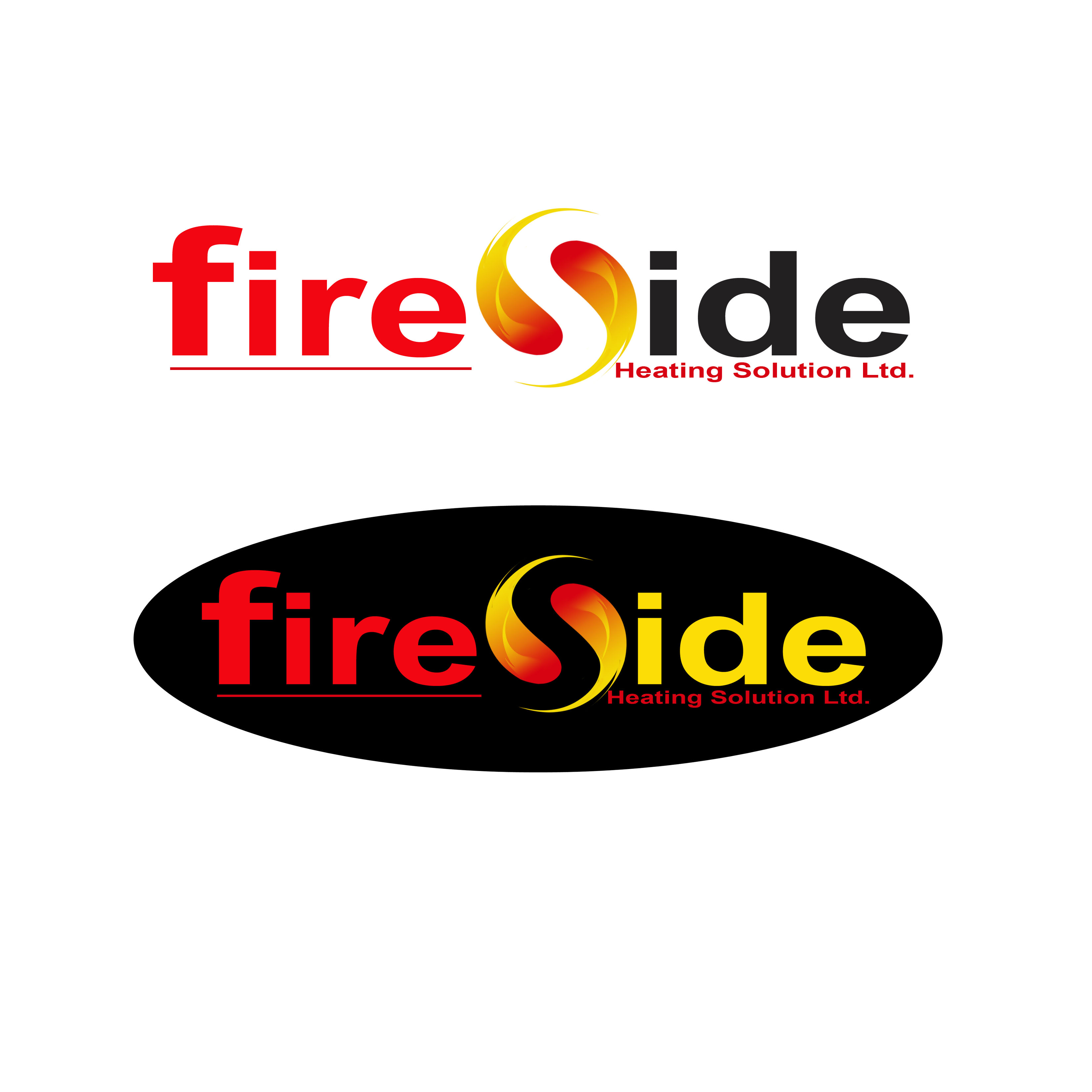 Logo Design by Allan Esclamado - Entry No. 174 in the Logo Design Contest Creative Logo Design for Fireside Heating Solutions Ltd..