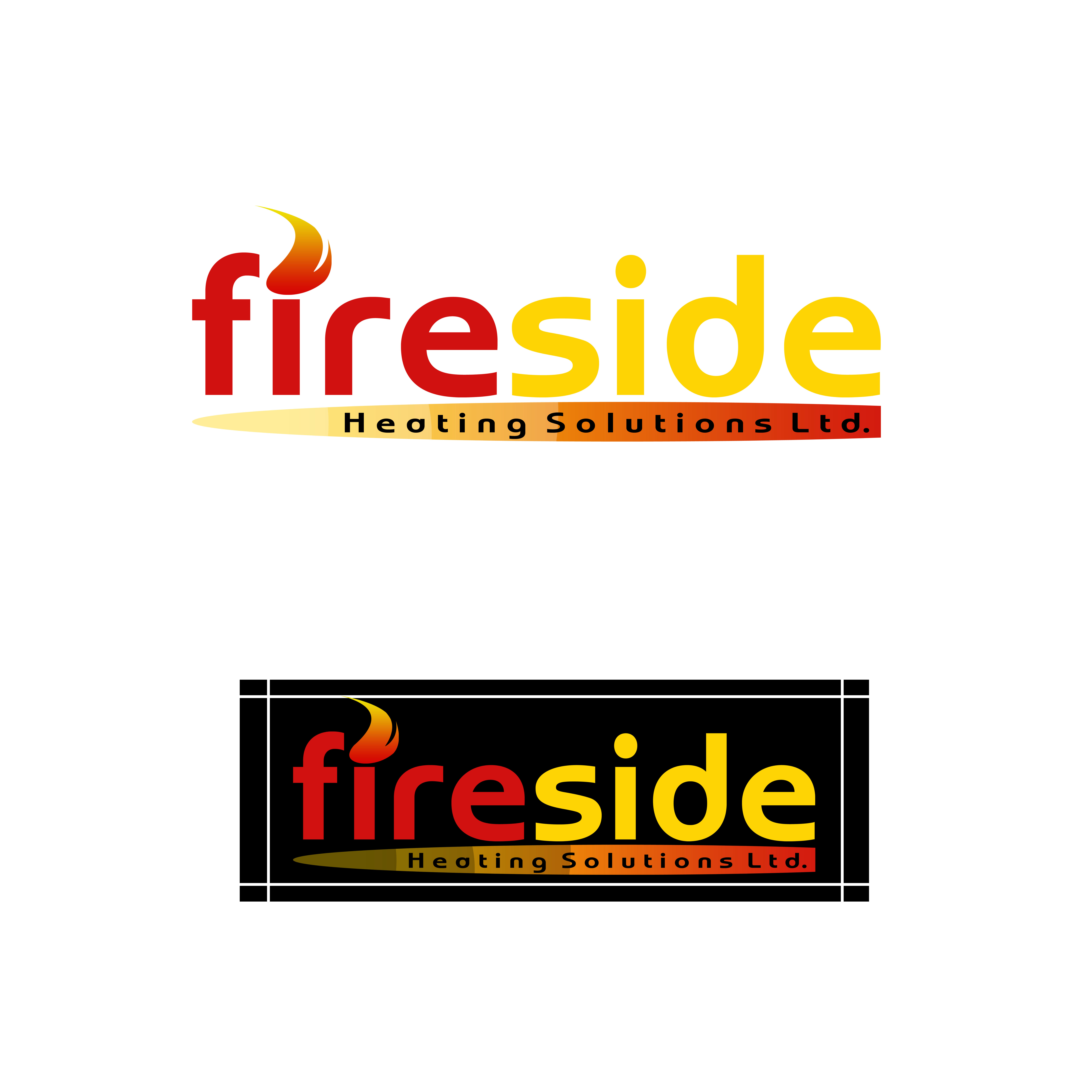 Logo Design by Allan Esclamado - Entry No. 178 in the Logo Design Contest Creative Logo Design for Fireside Heating Solutions Ltd..