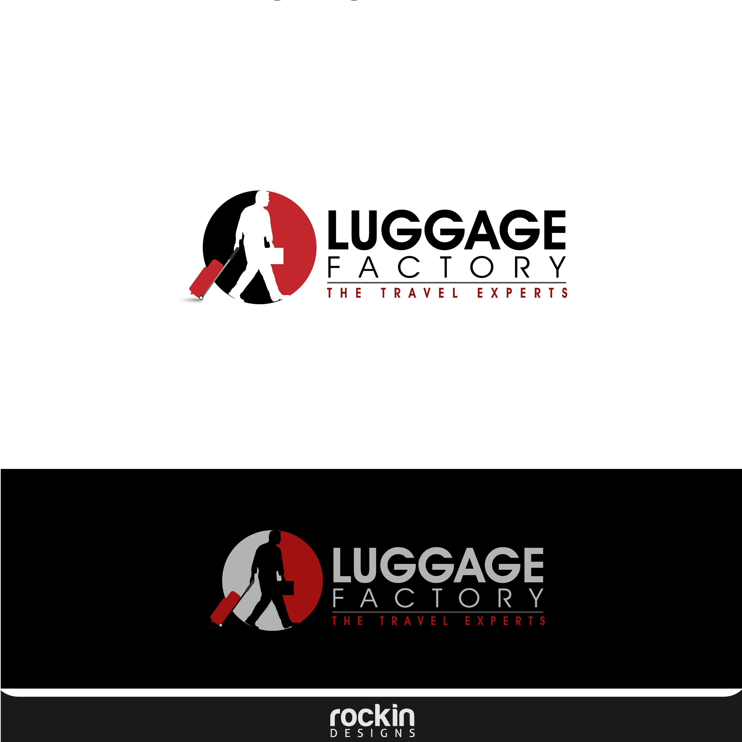 Logo Design by rockin - Entry No. 112 in the Logo Design Contest Creative Logo Design for Luggage Factory.