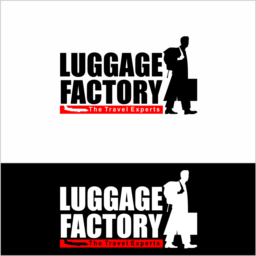 Logo Design by Armada Jamaluddin - Entry No. 121 in the Logo Design Contest Creative Logo Design for Luggage Factory.