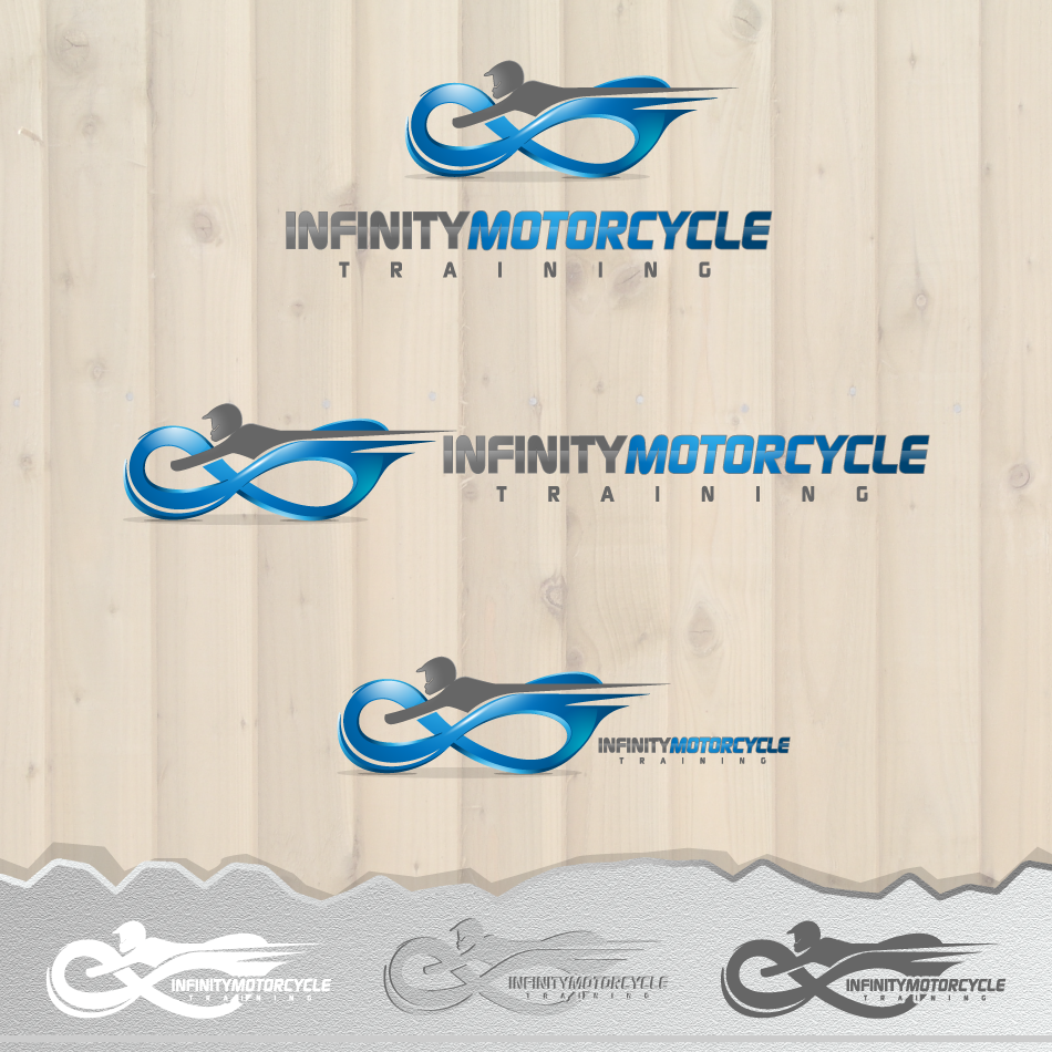 Logo Design by zesthar - Entry No. 2 in the Logo Design Contest INFINITY MOTORCYCLE TRAINING.