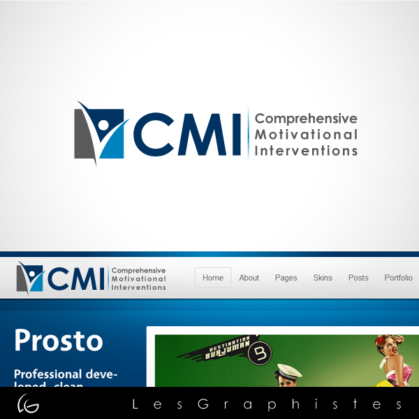 Logo Design by Les-Graphistes - Entry No. 56 in the Logo Design Contest CMI (Comprehensive Motivational Interventions).