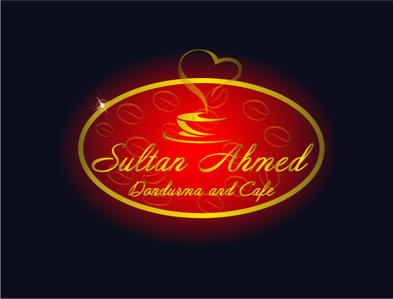 Logo Design by Private User - Entry No. 22 in the Logo Design Contest Unique Logo Design Wanted for Sultan Ahmed Dondurma and Cafe.