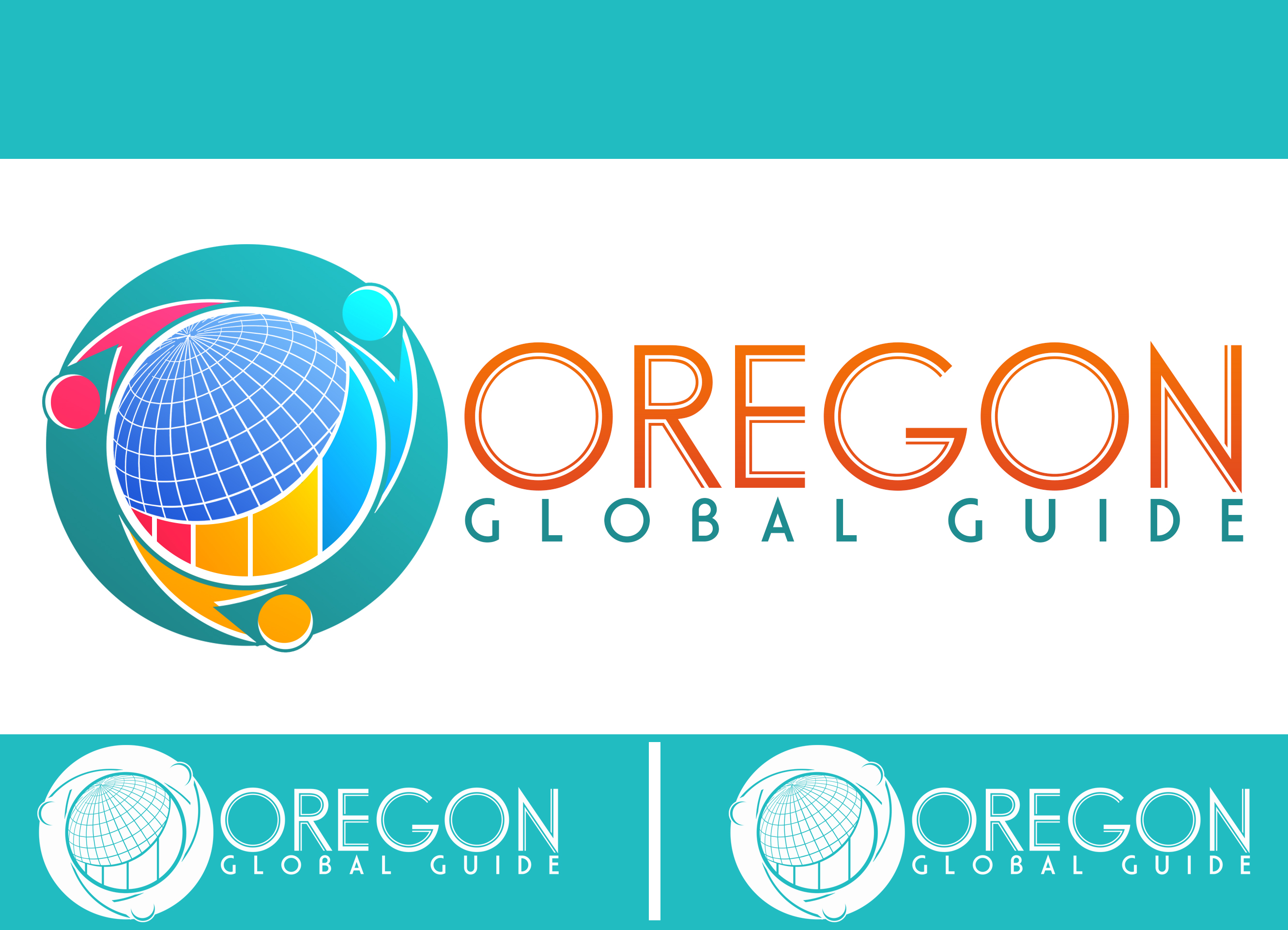 Logo Design by chAnDOS - Entry No. 21 in the Logo Design Contest New Logo Design for Oregon Global Guide.