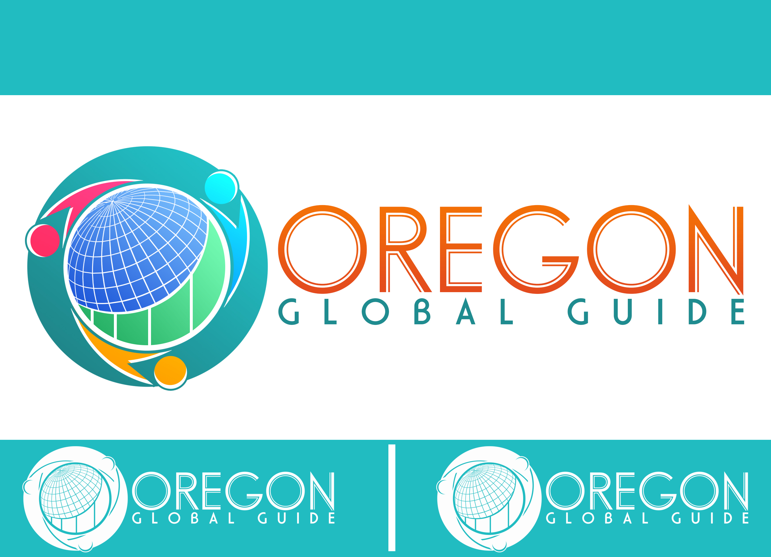 Logo Design by chAnDOS - Entry No. 22 in the Logo Design Contest New Logo Design for Oregon Global Guide.
