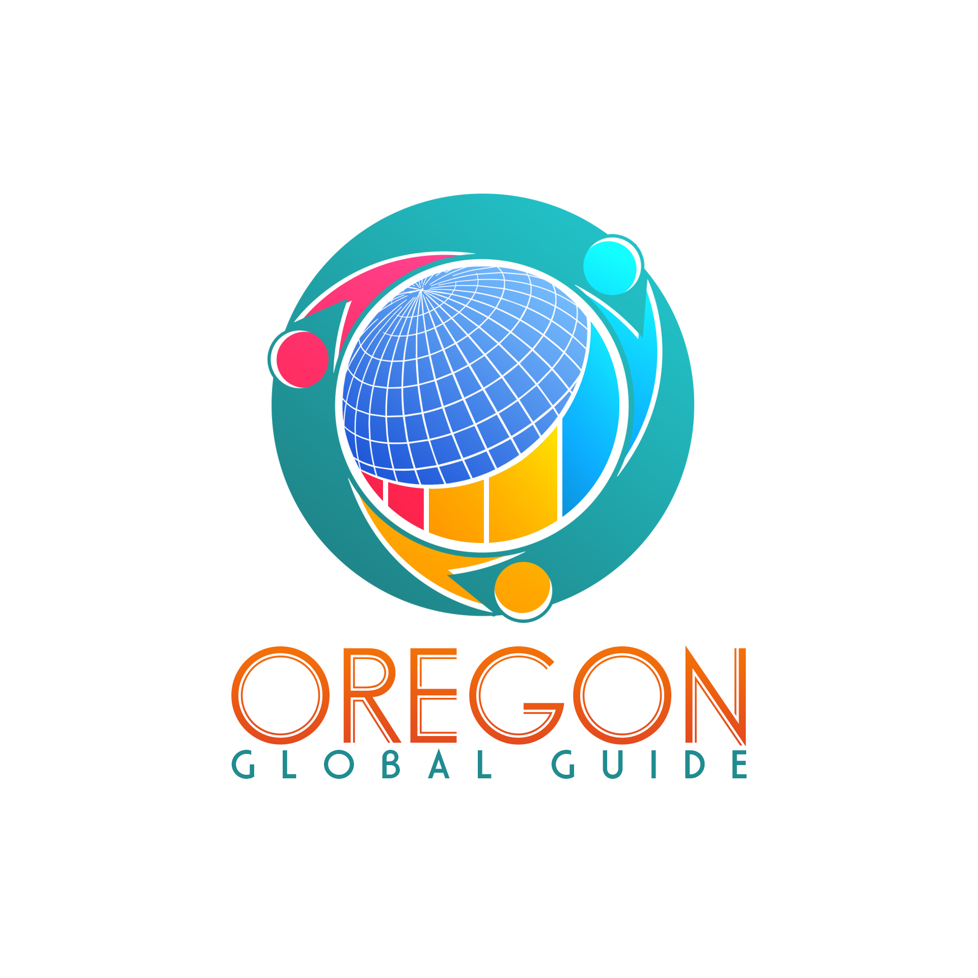 Logo Design by chAnDOS - Entry No. 23 in the Logo Design Contest New Logo Design for Oregon Global Guide.
