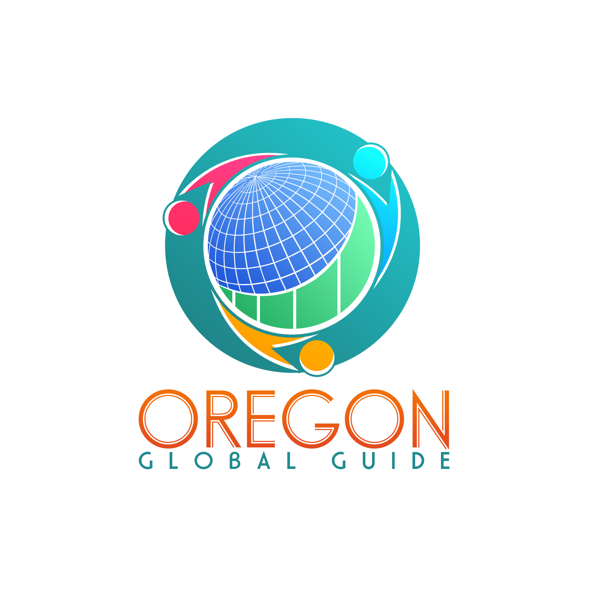 Logo Design by chAnDOS - Entry No. 24 in the Logo Design Contest New Logo Design for Oregon Global Guide.
