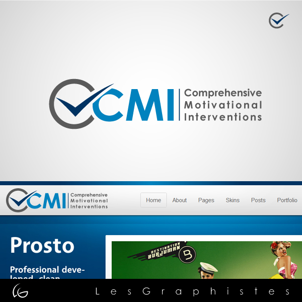 Logo Design by Les-Graphistes - Entry No. 58 in the Logo Design Contest CMI (Comprehensive Motivational Interventions).