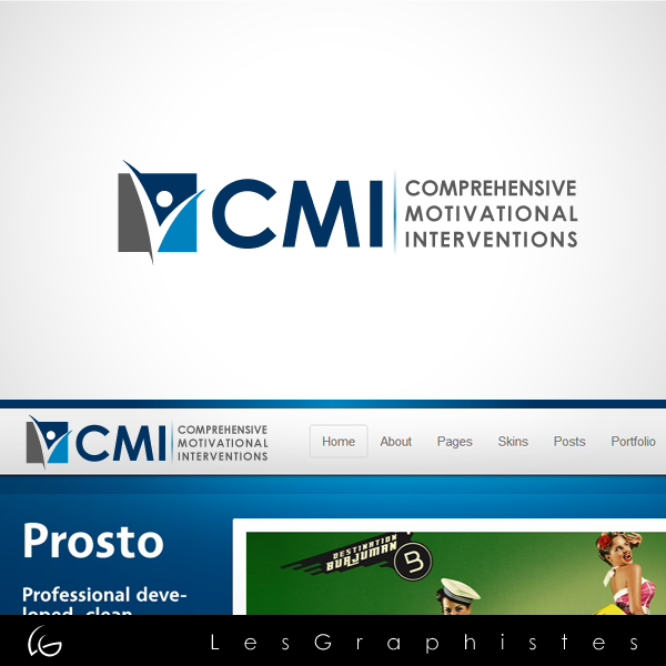 Logo Design by Les-Graphistes - Entry No. 59 in the Logo Design Contest CMI (Comprehensive Motivational Interventions).