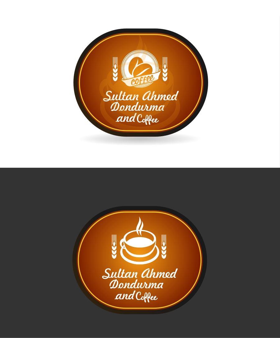 Logo Design by Private User - Entry No. 24 in the Logo Design Contest Unique Logo Design Wanted for Sultan Ahmed Dondurma and Cafe.