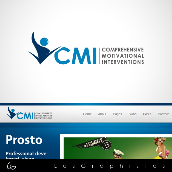 Logo Design by Les-Graphistes - Entry No. 60 in the Logo Design Contest CMI (Comprehensive Motivational Interventions).
