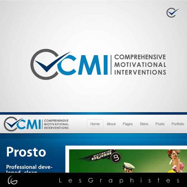 Logo Design by Les-Graphistes - Entry No. 61 in the Logo Design Contest CMI (Comprehensive Motivational Interventions).