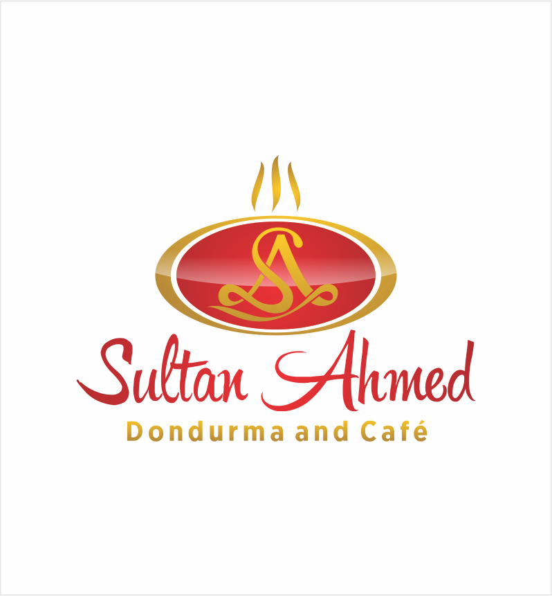 Logo Design by Armada Jamaluddin - Entry No. 26 in the Logo Design Contest Unique Logo Design Wanted for Sultan Ahmed Dondurma and Cafe.