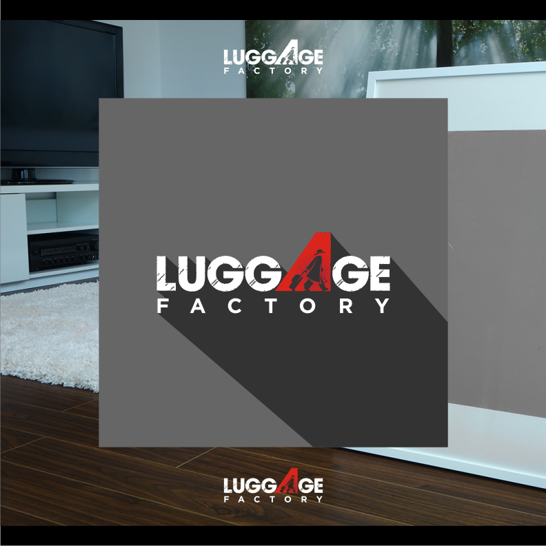 Logo Design by graphicleaf - Entry No. 127 in the Logo Design Contest Creative Logo Design for Luggage Factory.