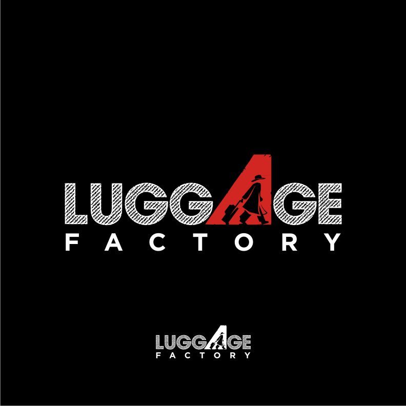 Logo Design by graphicleaf - Entry No. 129 in the Logo Design Contest Creative Logo Design for Luggage Factory.