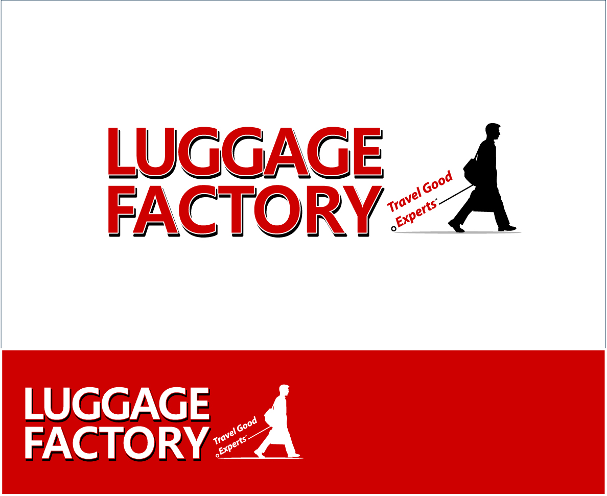Logo Design by zoiDesign - Entry No. 135 in the Logo Design Contest Creative Logo Design for Luggage Factory.
