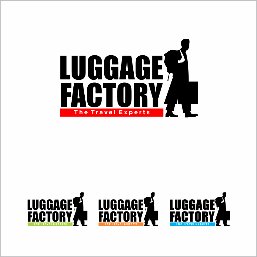 Logo Design by Armada Jamaluddin - Entry No. 145 in the Logo Design Contest Creative Logo Design for Luggage Factory.