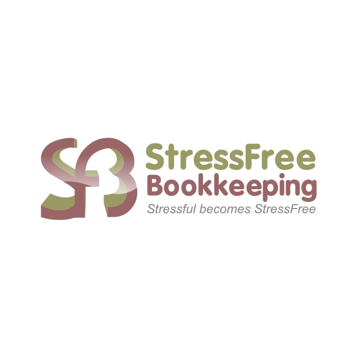Logo Design by R1CK_ART - Entry No. 66 in the Logo Design Contest StressFree Bookkeeping.