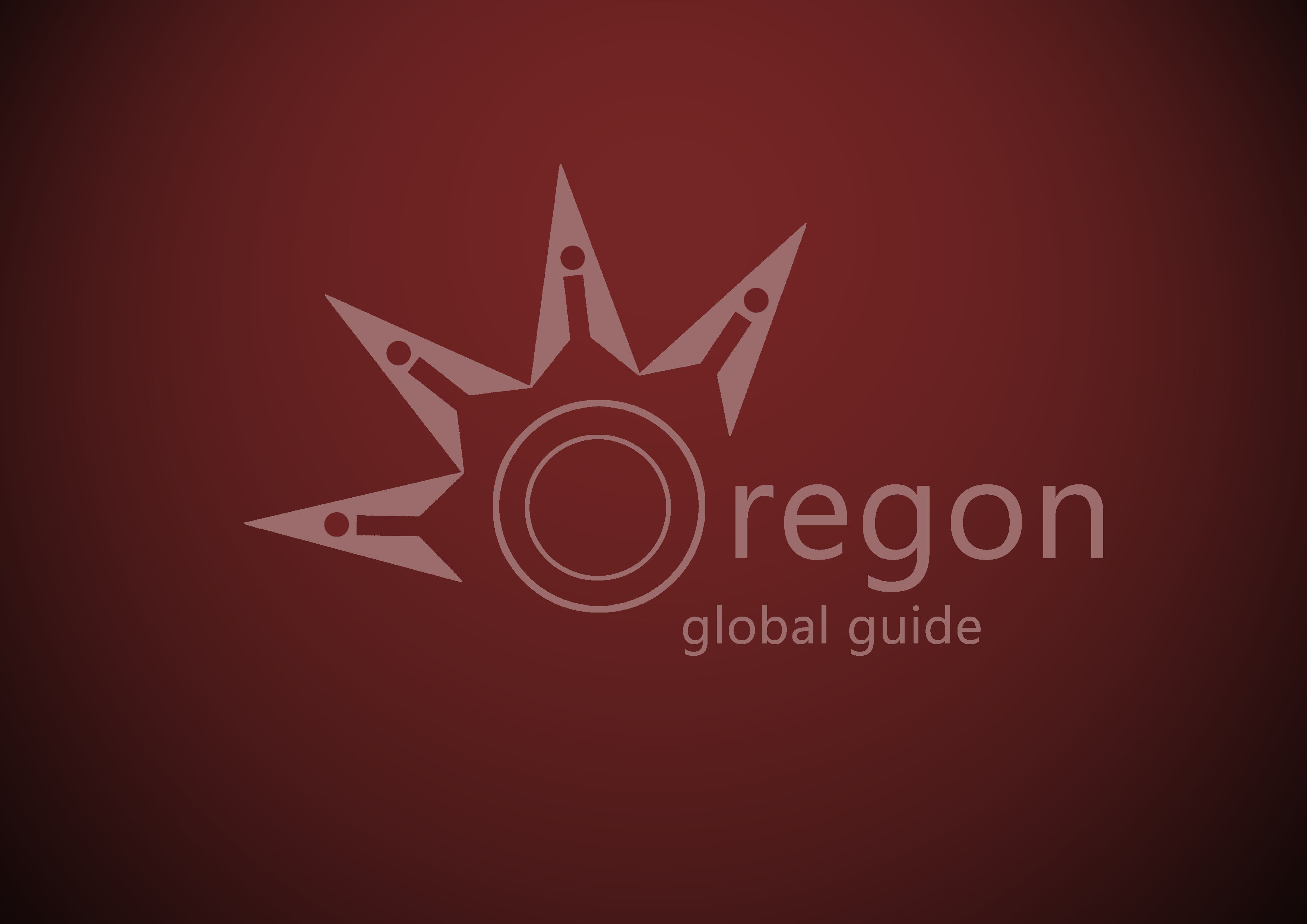Logo Design by Firas Alsabbagh - Entry No. 38 in the Logo Design Contest New Logo Design for Oregon Global Guide.