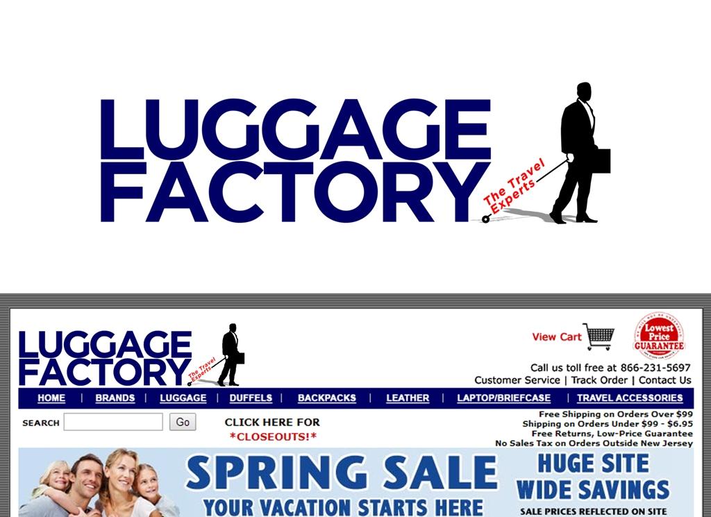 Logo Design by Juan_Kata - Entry No. 151 in the Logo Design Contest Creative Logo Design for Luggage Factory.
