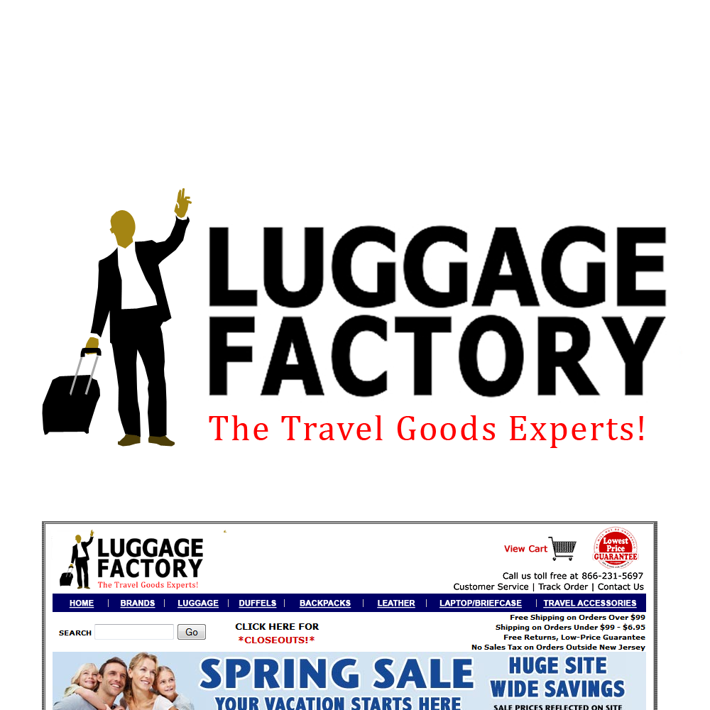 Logo Design by Brand_Man - Entry No. 153 in the Logo Design Contest Creative Logo Design for Luggage Factory.