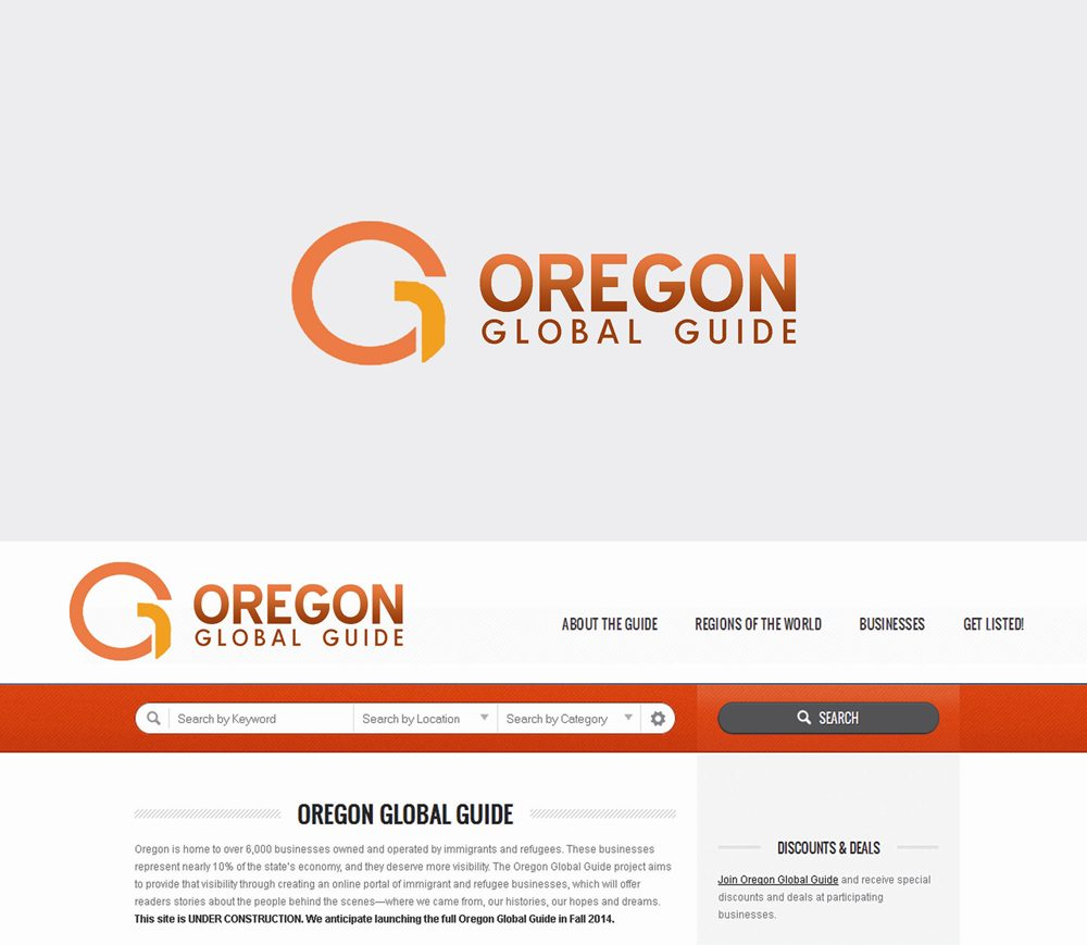 Logo Design by Respati Himawan - Entry No. 46 in the Logo Design Contest New Logo Design for Oregon Global Guide.