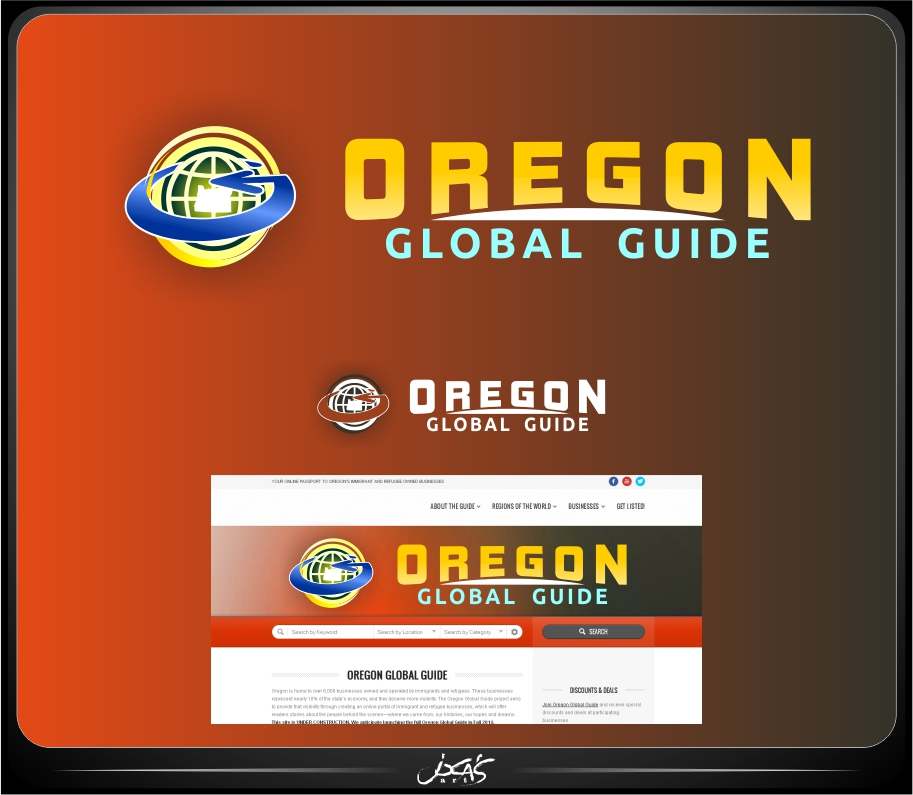 Logo Design by joca - Entry No. 47 in the Logo Design Contest New Logo Design for Oregon Global Guide.