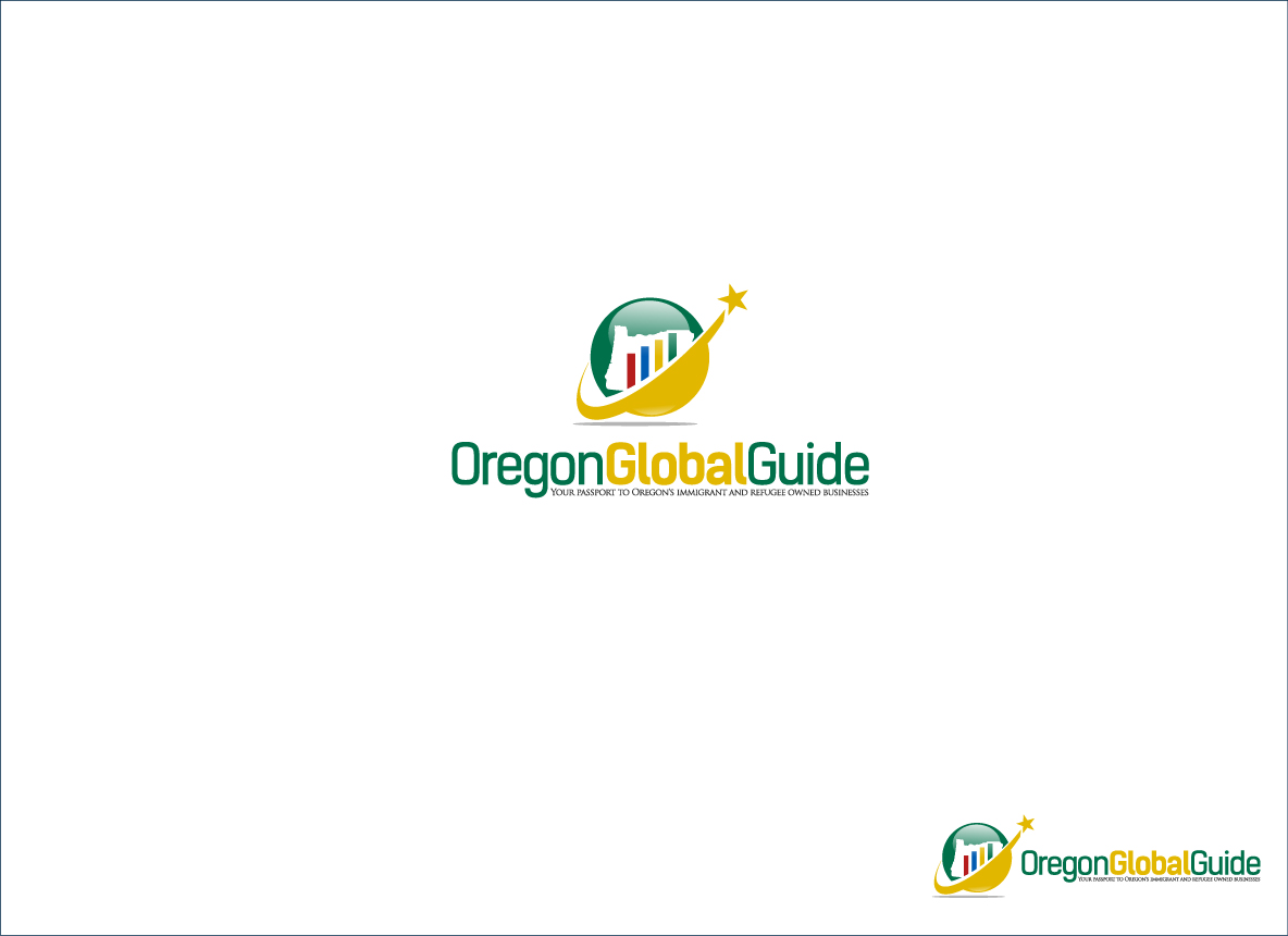 Logo Design by zoiDesign - Entry No. 48 in the Logo Design Contest New Logo Design for Oregon Global Guide.