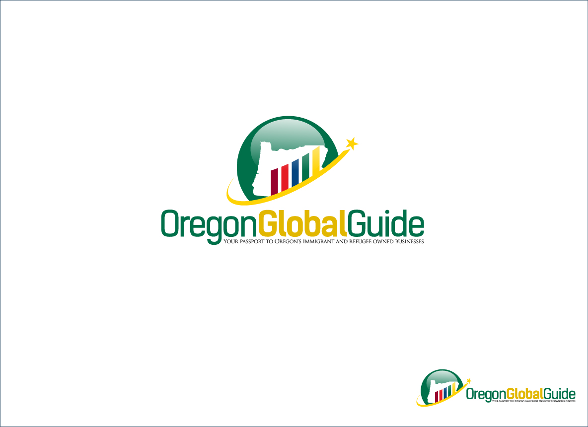 Logo Design by zoiDesign - Entry No. 49 in the Logo Design Contest New Logo Design for Oregon Global Guide.