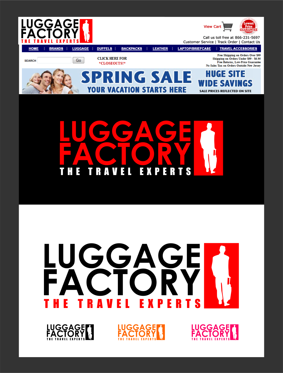 Logo Design by Agus Martoyo - Entry No. 161 in the Logo Design Contest Creative Logo Design for Luggage Factory.