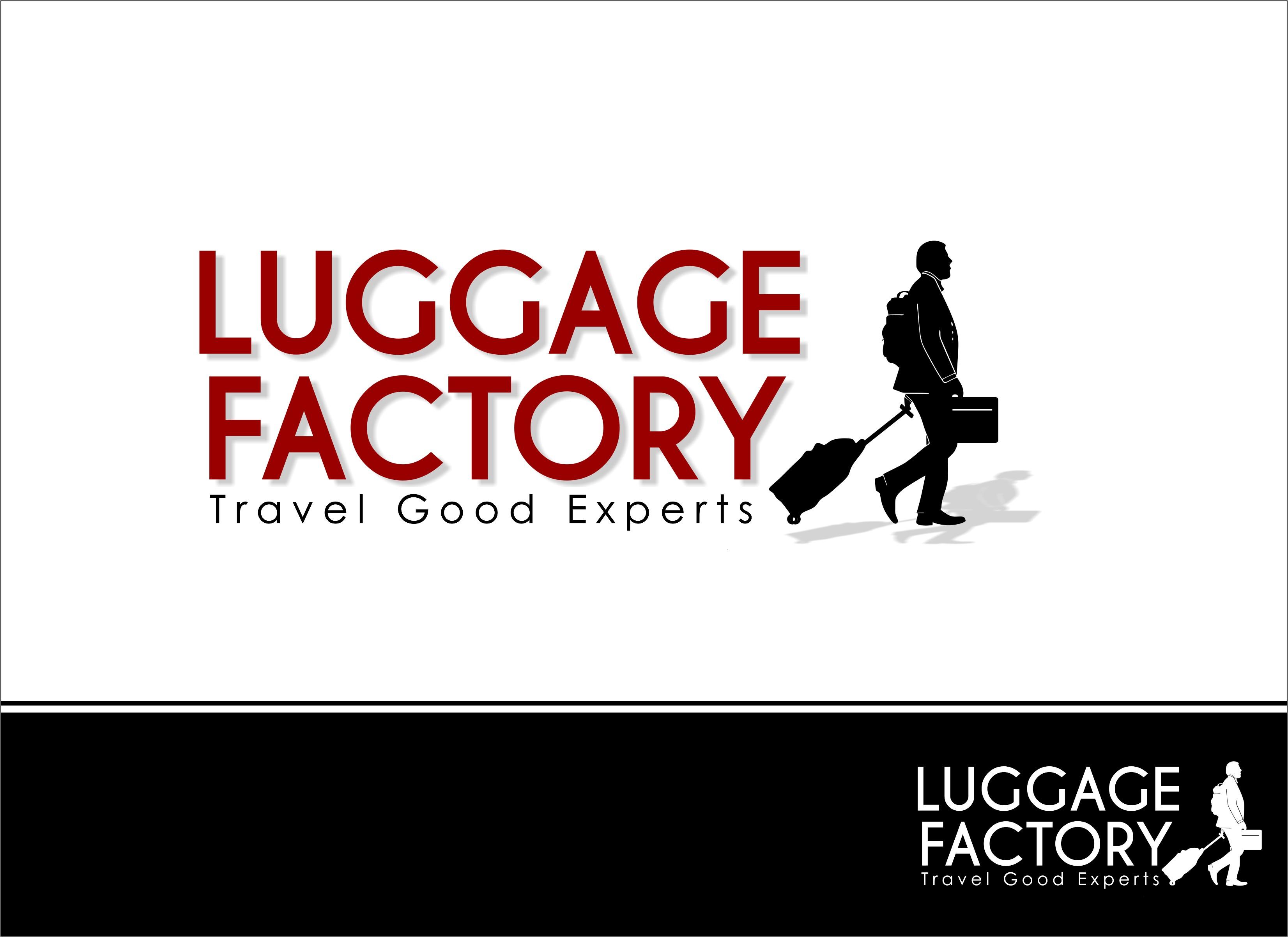 Logo Design by Mhon_Rose - Entry No. 163 in the Logo Design Contest Creative Logo Design for Luggage Factory.