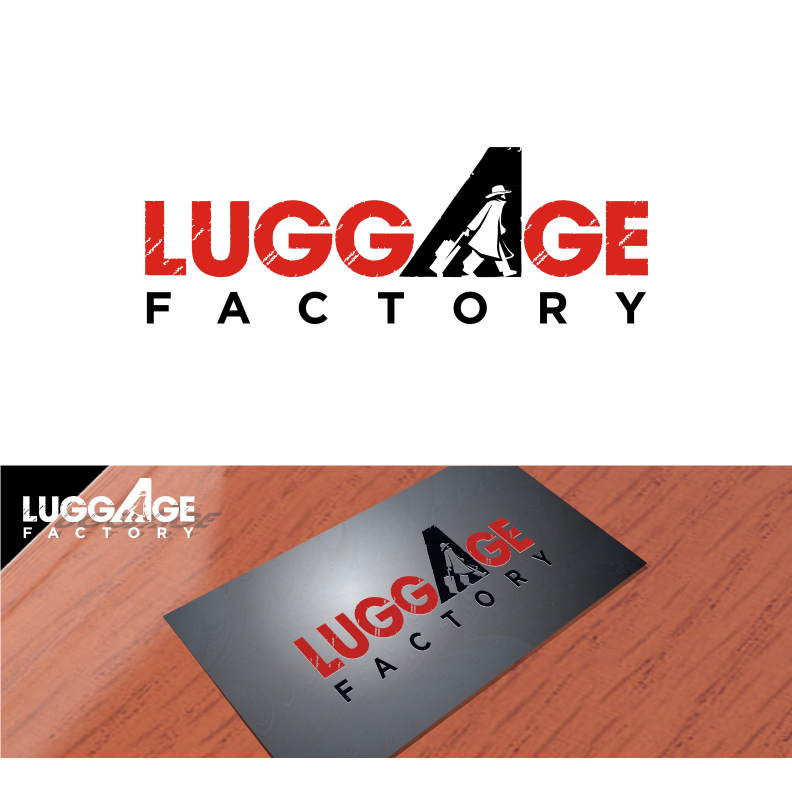 Logo Design by graphicleaf - Entry No. 164 in the Logo Design Contest Creative Logo Design for Luggage Factory.