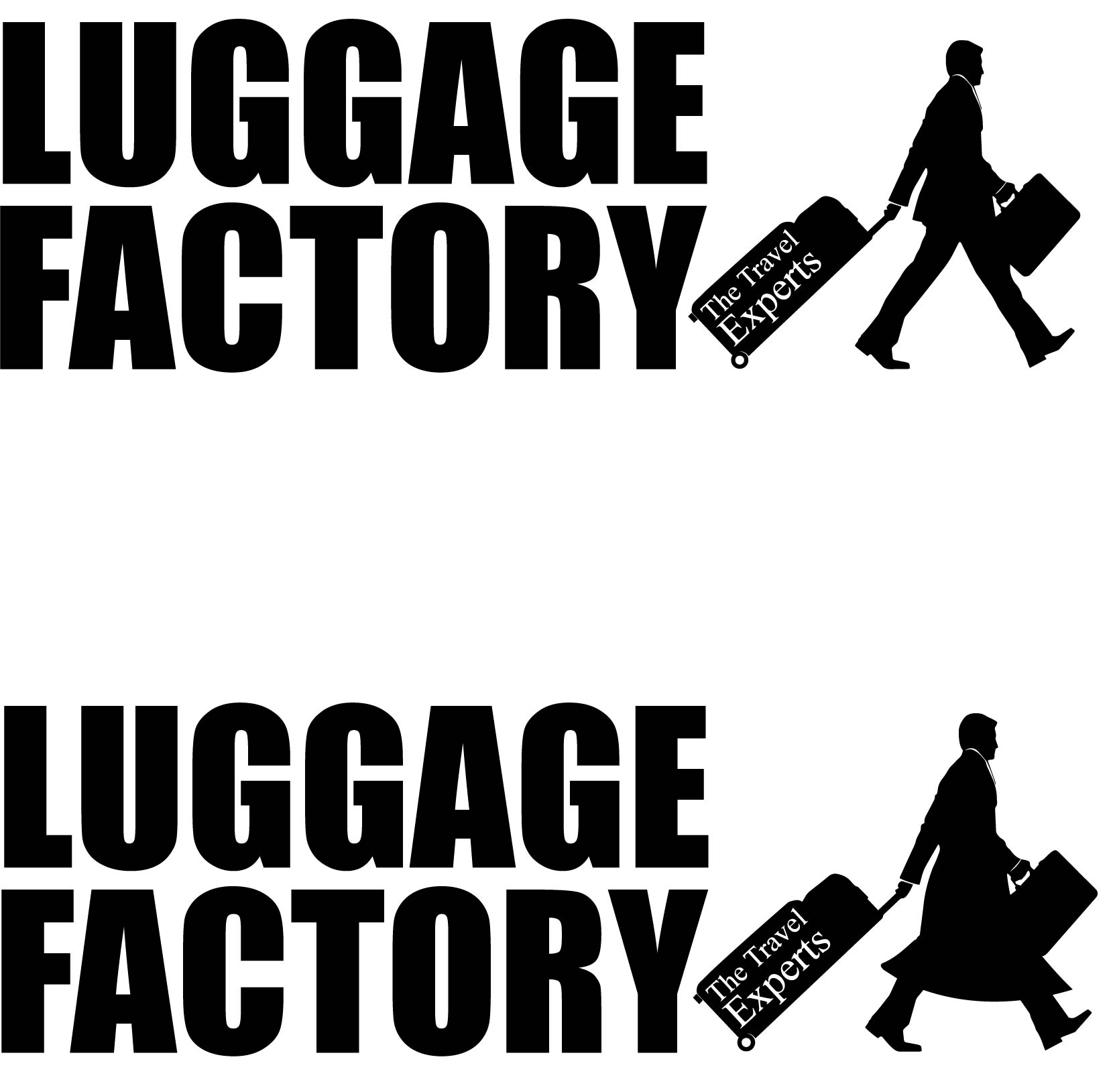 Logo Design by chAnDOS - Entry No. 166 in the Logo Design Contest Creative Logo Design for Luggage Factory.